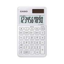Casio SL-1000SC-WE Taschenrechner Tasche Einfacher Taschenrechner Weiß