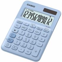 Casio MS-20UC-LB Taschenrechner Desktop Einfacher Taschenrechner Blau