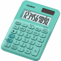 Casio MS-7UC Taschenrechner Desktop Display-Rechner Grün