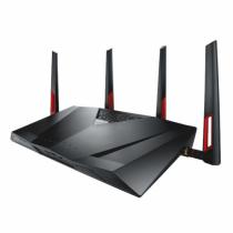 ASUS DSL-AC88U WLAN-Router Dual-Band (2,4 GHz/5 GHz) Gigabit Ethernet Schwarz