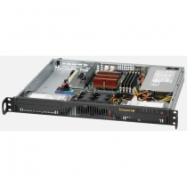 Supermicro CSE-512F-350B Computer-Gehäuse Rack Schwarz 350 W