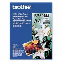 Brother BP60MA Inkjet Paper Druckerpapier A4 (210x297 mm) Matte 25 Blätter Weiß