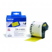 Brother DK-44605 Continuous Removable Yellow Paper Tape (62mm) Gelb