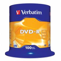 Verbatim DVD-R Matt Silver 4,7 GB 100 Stück(e)