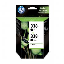 HP 338 Original Schwarz 2 Stück(e)