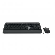Logitech MK540 Advanced Tastatur RF Wireless QWERTZ Tschechisch, Slowakisch Schwarz, Weiß