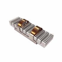QNAP HS-M2SSD-02 Computer Kühlkomponente Solid-State-Laufwerk Kühlkörper Grün