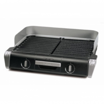 Tefal TG8000 Barbecue & Grill 2400 W Schwarz, Silber