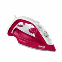 Tefal UltraGliss FV4950 Bügeleisen Dampfbügeleisen Duriliumsohle Rot, Weiß 2500 W