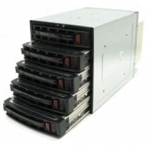 Supermicro CSE-M35TQ SATA Mobile Rack, Black Schwarz