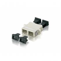 Equip 156140 LWL-Steckverbinder SC Beige