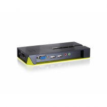 LevelOne 4-Port USB KVM Switch mit Audio