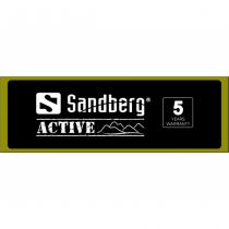 Sandberg Header for Alu Slatwall Active