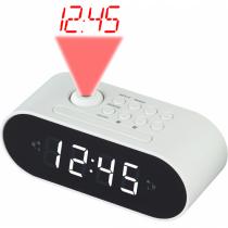 Denver CRP-717 Radio Uhr Digital Weiß