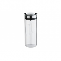 WMF 06.5104.6040 Karaffe, Krug & Flasche 0,8 l Silber, Transparent