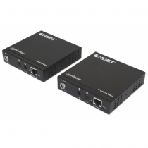 Manhattan 207973 Audio-/Video-Leistungsverstärker AV-Sender & -Empfänger Schwarz