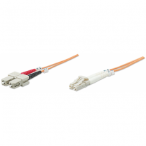 Intellinet 472814 Glasfaserkabel 20 m OM2 LC SC Orange
