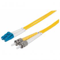 Intellinet 516990 Glasfaserkabel 20 m OS2 LC ST Gelb