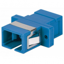Intellinet 760607 LWL-Steckverbinder SC/SC Blau