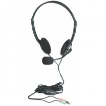 Manhattan 164429 Kopfhörer & Headset Kopfband Schwarz, Silber