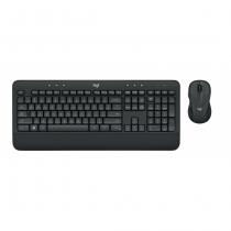 Logitech Advanced Wireless Combo Tastatur RF Wireless QWERTZ Deutsch Schwarz