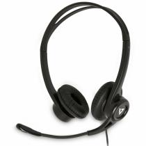 V7 Essentials USB Stereo-Headset mit Mikrofon