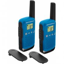Motorola TALKABOUT T42 Funksprechgerät 16 Kanäle Schwarz, Blau