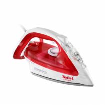 Tefal EasyGliss FV3962E0 Trocken- & Dampfbügeleisen CeramicGlide-Sohle Rot, Weiß 2400 W
