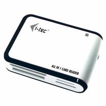 i-tec Kartenleser USB 2.0 All in One s/w Card Reader