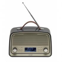 Denver DAB-38GREY Radio Persönlich Digital Grau
