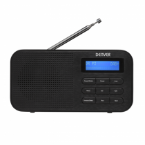 Denver DAB-42 Radio Tragbar Digital Schwarz