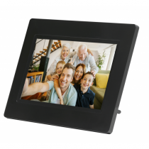 Denver PFF-710BLACK Digitaler Bilderrahmen 17,8 cm (7 Zoll) Touchscreen WLAN Schwarz