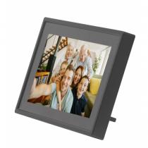 Denver PFF-711BLACK Digitaler Bilderrahmen 17,8 cm (7 Zoll) Touchscreen WLAN Schwarz