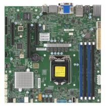 Supermicro X11SCZ-F LGA 1151 (Socket H4) Micro ATX Intel C246
