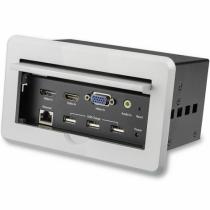 StarTech.com Konferenztisch Tischanschlussfeld für Audio und Video - 4K