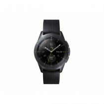 Samsung SM-R810NZKAATO Smartwatch SAMOLED 3,05 cm (1.2 Zoll) Schwarz GPS