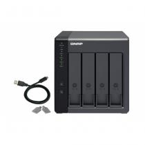 QNAP TR-004 Disk-Array Schwarz
