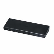 i-tec USB 3.0 / USB-C / Thunderbolt 3 Dual Display Docking Station + Power Delivery 85W