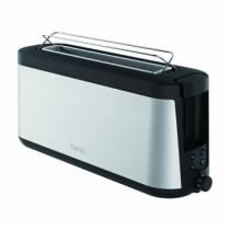 Tefal TL4308 Toaster 2 Scheibe(n) Schwarz, Edelstahl 1000 W