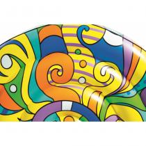 Bestway 43195 Aufblasbares Spielzeug für Pool & Strand Mehrfarbig Schwimmende Insel Vinyl