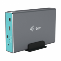 "i-tec MySafe USB-C 3.1 Gen. 2 / USB 3.0, External case for 2x 2,5"" SATA HDD/SSD, RAID 0/1/JBOD Support"