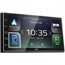 JVC KW-M745DBT Schwarz 200 W Bluetooth