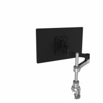 R-Go Tools R-Go Zepher 4 C2, nachhaltiger Monitor Arm, Tischhalterung, Justierbar, nachhaltiger Monitor Arm, 8 kg Tragkraft, schwarz/silber, geringer CO2 Fußabdruck