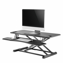 Newstar Sitz-Steh-Workstation
