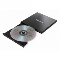 Verbatim 43889 Optisches Laufwerk Schwarz Blu-Ray RW
