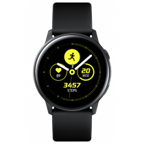 Samsung Galaxy Watch Active Smartwatch SAMOLED 2,79 cm (1.1 Zoll) Schwarz GPS