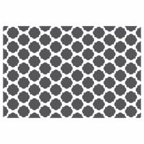 HERMA 15570 Platzdeckchen Rechteck Schwarz, Weiß 4 Stück(e)