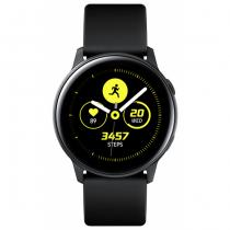 Samsung Galaxy Watch Active Smartwatch SAMOLED 2,79 cm (1.1 Zoll) Schwarz GPS