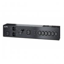 APC Service Bypass PDU 230V 16AMP W/ (6) IEC C13 And (1) C19 Stromverteilereinheit (PDU) Schwarz 7 AC-Ausgänge