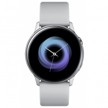 Samsung Galaxy Watch Active Smartwatch SAMOLED 2,79 cm (1.1 Zoll) Silber GPS